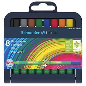 Sada Schneider Link IT, 8 ks Fibrepen