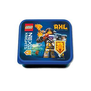Box na desiatu Lego Nexo Knights, 160x140x65mm, modrá