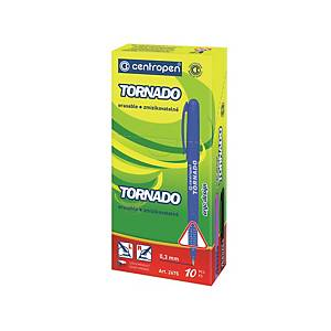 Centropen 2675 Tornado golyóstoll, kék tinta, mix