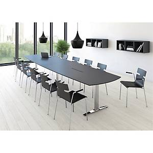 JIVE CONFERENCE TABLE 110/90X400 ANT/ALU.