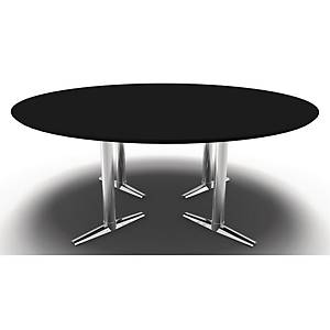 SWITCH CONFERENCE TABLE 180X72CM BLK/CHR