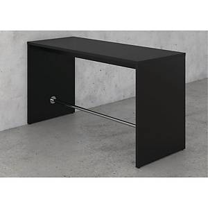 MEETING H/TABLE W/FOOTREST 110X80X200BLK
