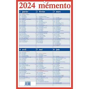 Aurora Mementokalender FR 21x33cm