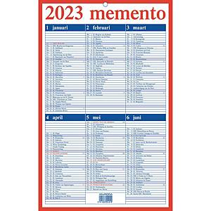 Aurora Mementokalender, Nederlandstalig, 21 x 33 cm