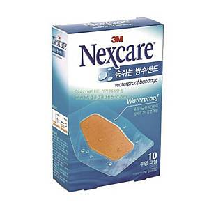 PK10 3M NEXCARE 582-10 PLASTER L CLEAR