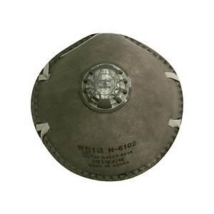 우리텍 1급 면체 마스크 N-6102 10입