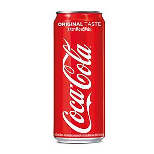 COKE CARBONATED DRINK 325 MILLILITRES PACK OF 24