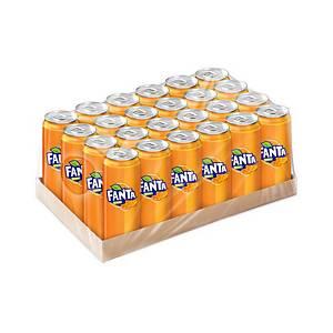 FANTA CARBONATED DRINK 325 MILLILITRES ORANGE PACK OF 24