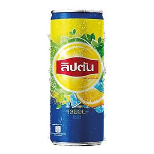 LIPTON DRINK LEMON TEA 245 MILLILITRES PACK OF 24