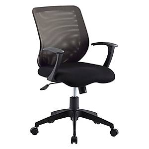 WORKSCAPE เก้าอี้สำนักงาน CHRISTINA ZR-1004 สีดำ