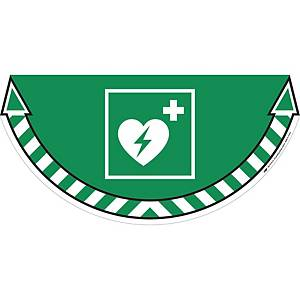 CEP TAKE CARE STICKER DEFIBRILLATOR