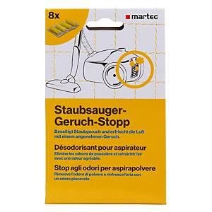 Staubsauger-Geruch-Stopp Martec 33046, Packung à 8 Stück, sandelholzduft