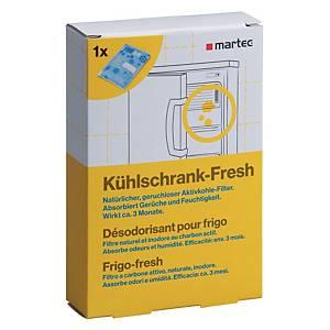 Désodorisant réfrigérateur Martec 33047, paq. 1unité, parf. spécif. produit
