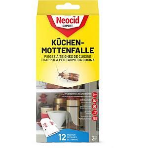 Piège à teignes de cuisine, Neocid Expert, emballage de 2 pièces