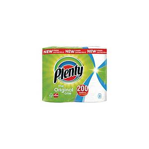 Plenty Kitchen Roll 2 Ply 100 Sheet - Pack of 2