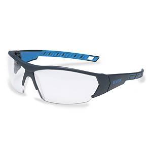 Schutzbrille Uvex sportstyle 9194, Filtertyp 2C, anthrazit/blau, Scheibe klar