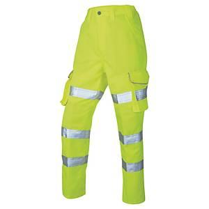 Leo CL01-Y Hi-Vis Cargo Trouser 10 Yllw