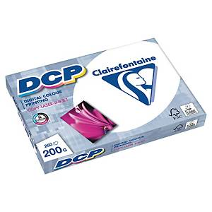 Papier DCP Clairefontaine, A4, 200 g/m², biely, 250 listov/balenie