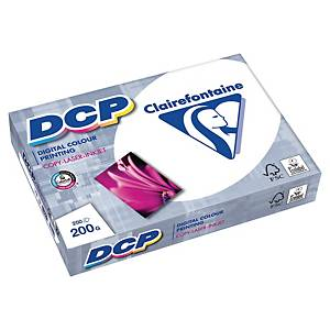 Papír DCP Clairefontaine, A3, 200 g/m², bílý, 250 listů/balení