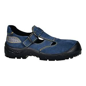 Sandały FAGUM 1104/1KP S1 SRC, niebieskie, rozmiar 39