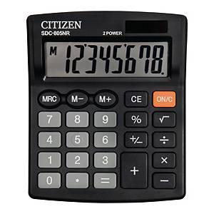 Kalkulator CITIZEN SDC805NR 8-pozycyjny Czarny