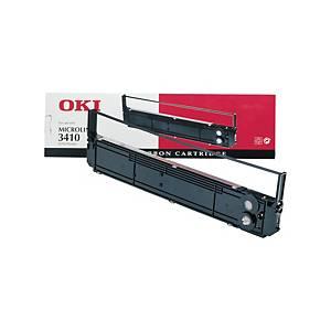 OKI festékszalag nyomtatókhoz 3410 (09002308) fekete