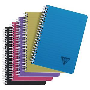 Anteckningsblock Clairefontaine Linicolor Intense, A5, linjerat