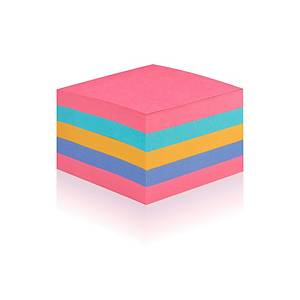 Post It 2028-SS-RBWC S/S Cube 76X76 440 Sheet Rainbow