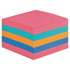 Post-it 2028 Super Sticky cube 76x76 440 sheets rainbow