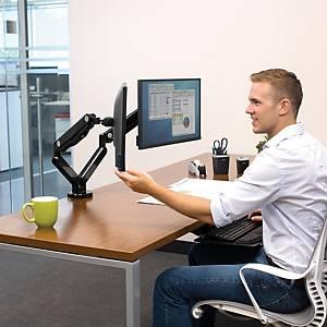 Braço para monitor simples Fellowes Platinum Series