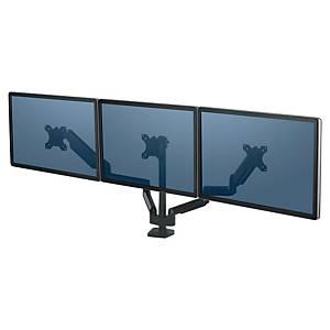 Bras support écran Fellowes Platinum Series - à pince - 3 écrans