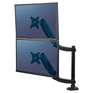 Braccio monitor Fellowes Platinum Series doppio verticale