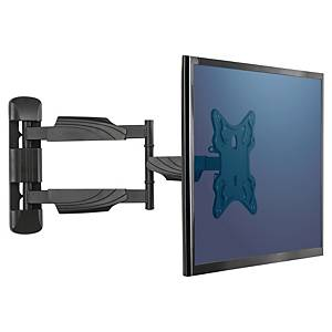Fellowes (8043601) Full Motion TV monitorarm met muurbevestiging