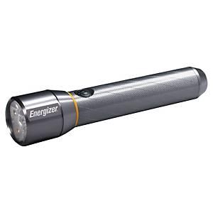 Energizer Vision Metal aluminium LED zaklamp met 6 AA batterijen