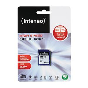 SDHC minnekort Intenso klas10 32GB