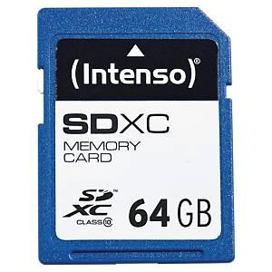 Minnekort Intenso SDHC, 64 GB