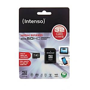 Hukommelseskort Intenso Micro SDHC, 32 GB