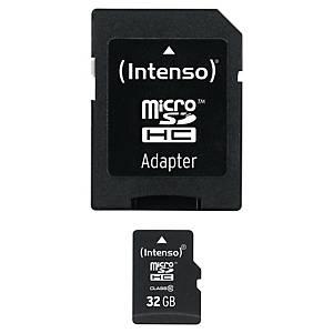 INTENSO MICROSD HC MEM CARD CLASS10 32GB