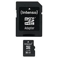 Minneskort Intenso Micro SDHC, klass 10, 32 GB