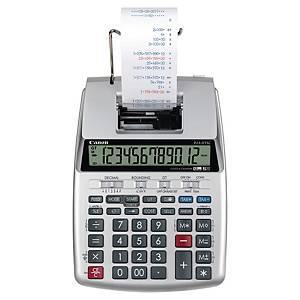 Canon P23-D TSCII szalagos számológép, háttérvilágítású 12 számjegyű LCD kijelző