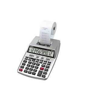 Calculadora impresora Canon P23-DTSC-II - 12 dígitos - gris
