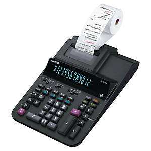 Strimmelregner Casio FR-620RE, sort, 12 cifre