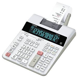 Calculatrice imprimante Casio FR-2650RC, 12 chiffres, blanc