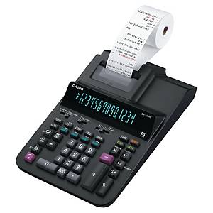 Kalkulačka s páskou Casio DR -320RE, velký 14místný displej