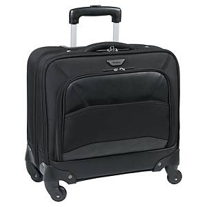 Targus Mobile Vip trolley, voor laptop tot 15,6 inch, zwart