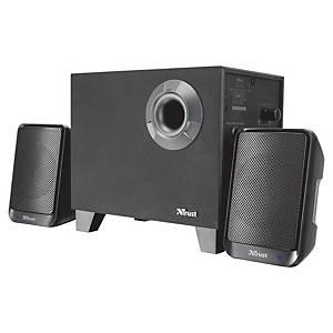Lautsprecher-Set Trust Evon Wireless 2.1, Bluetooth, schwarz