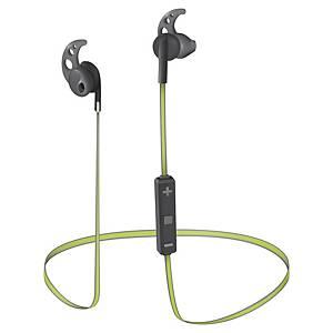 Trust Sila Bluetooth Wireless Binaural Earphones - Black/Lime
