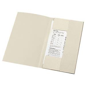 Lyreco iratgyűjtő 3 pólyával, szürke A4, 50 darab/csomag