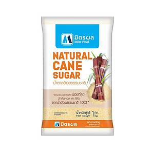 MITR PHOL น้ำตาลอ้อยธรรมชาติ 1 กิโลกรัม
