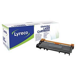 Lasertoner Lyreco Brother TN-2310 kompatibel, 1.200 sider, sort